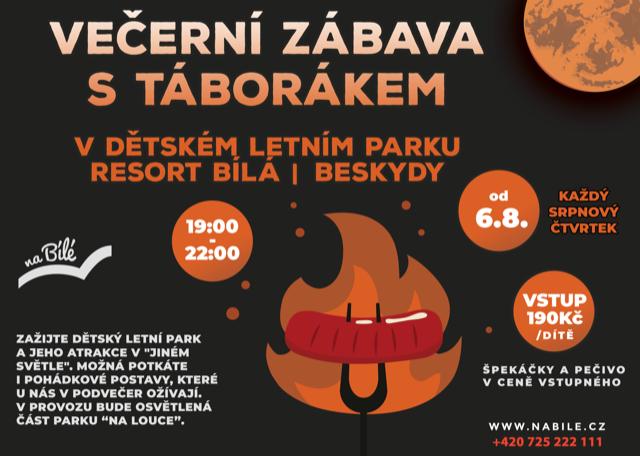 27. 8. VEČERNÍ PARK UŽ DNES